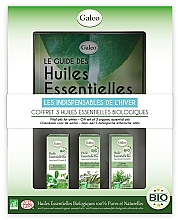 Parfums et Produits cosmétiques Galeo Vital Oils For Winter - Coffret, Les indispensables de l'hiver (huiles essentielles bio/3x10ml)