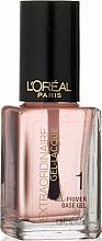 Parfums et Produits cosmétiques Base coat - L'Oreal Paris Extraordinaire Gel-Lacque Gel Primer 1