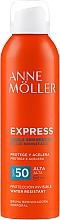 Parfums et Produits cosmétiques Spray solaire activateur de bronzage pour le corps, SPF 50 - Anne Moller Express Bruma Body Tanning Spray SPF50