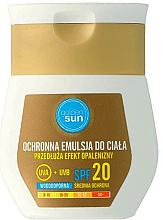 Parfums et Produits cosmétiques Émulsion protectrice waterproof pour corps SPF 20 - Golden Sun