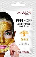 Parfums et Produits cosmétiques Masque peel-off à l'acide hyaluronique et huile d'argan pour visage - Marion Golden Skin Care Peel-Off Mask