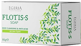 Parfums et Produits cosmétiques Savon au sulfate de zinc et extrait de saule pour peau acnéique - Egeria Flotis-s Soap
