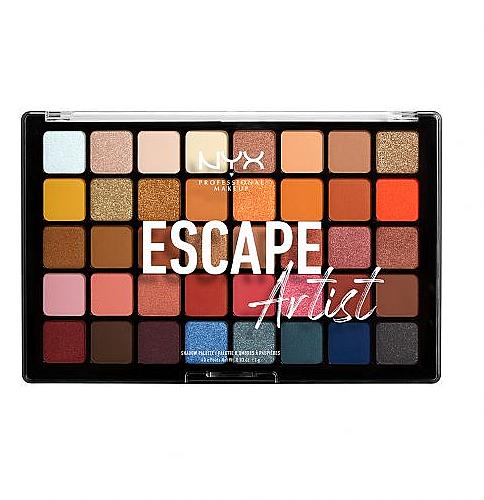 Palette d'ombres à paupières - NYX Professional Makeup Escape Artist — Photo N1