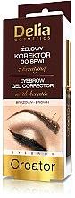 Parfums et Produits cosmétiques Gel correcteur à sourcils - Delia Cosmetics Eyebrow Gel