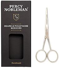 Parfums et Produits cosmétiques Ciseaux à barbe et moustache - Percy Nobleman Beard & Moustache Scissors