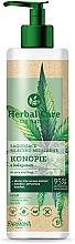 Parfums et Produits cosmétiques Lait micellaire apaisant au chanvre et collagène pour visage - Farmona Herbal Care