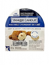 Parfums et Produits cosmétiques Cire parfumée pour lampe aromatique - Yankee Candle Soft Blanket Wax Melt