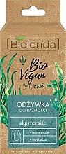 Parfums et Produits cosmétiques Revitalisant à l'extrait d'algues pour ongles - Bielenda Bio Vegan Nail Care Sea Algae