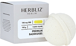 Parfums et Produits cosmétiques Baombe de bain, Ylang-Ylang - Herbliz CBD