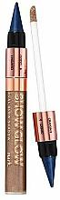 Parfums et Produits cosmétiques Duo fard à paupières liquide et crayon kajal - Avon Mark Show Glow Dual Glow Shadow
