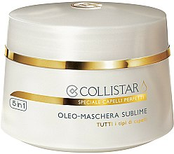 Parfums et Produits cosmétiques Masque aux huiles pour cheveux - Collistar Oleo-Maschera Sublime