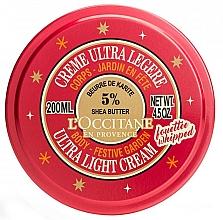 Parfums et Produits cosmétiques Crème au beurre de karité pour corps - L'occitane Shea Festive Garden Ultra Light Body Cream