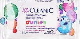 Parfums et Produits cosmétiques Lingettes nettoyantes, 15 pcs - Cleanic Junior Wipes