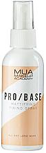 Parfums et Produits cosmétiques Spray matifiant fixateur de maquillage - MUA Pro Base Mattifying Fixing Spray