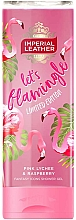Parfums et Produits cosmétiques Gel douche Litchi rose et Framboise - PZ Cussons Imperial Leather Lets Flamingle Shower Gel