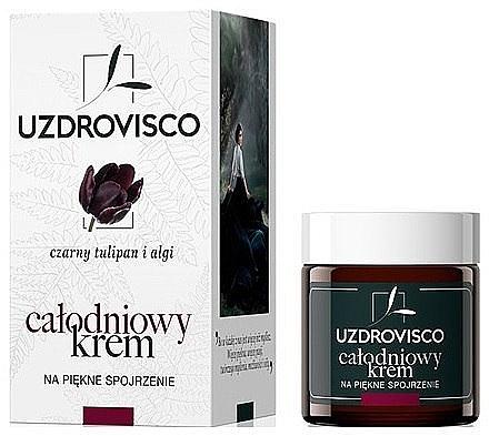Crème à l'extrait de tulipe noire et algues pour contour des yeux - Uzdrovisco Black Tulip i Algi Eye cream — Photo N1