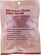 Parfums et Produits cosmétiques Éponge nettoyante aux cendres volcaniques pour visage - Purito Jeju Volcanic Scoria Konjac Sponge