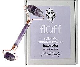 Parfums et Produits cosmétiques Rouleau d'amethyste pour massage du visage - Fluff Face Roller Ametyst