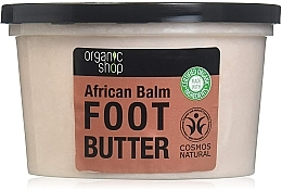 Baume aux huiles africaines et hibiscus pour pieds - Organic Shop Organic Hibiscus & 7 Oils Foot Butter — Photo N2