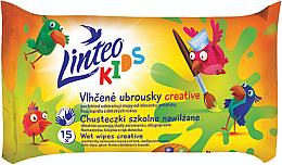 Parfums et Produits cosmétiques Lingettes nettoyantes pour enfants - Linteo Kids Creative