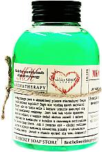Parfums et Produits cosmétiques Mousse de bain, Bambou et menthe - The Secret Soap Store
