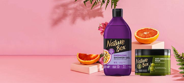 -30% de réduction sur l'assortiment promotionnel de produits Nature Box. Les prix sur le site sont indiqués avec des réductions