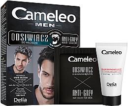Parfums et Produits cosmétiques Coloration cheveux pour homme pour les brunes - Delia Cameleo Men Anti Grey Hair Color
