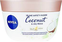 Parfums et Produits cosmétiques Soufflé à la noix de coco et au beurre de monoï pour corps - Nivea Body Souffle Coconut & Monoi Oil
