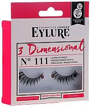 Parfums et Produits cosmétiques Faux-cils avec colle №111 - Eylure 3D Dimensional Lashes