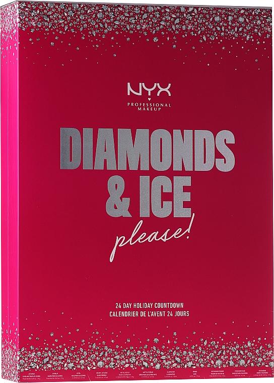 Calendrier de l'Avent - NYX Professional Makeup Diamond & Ice Advent Calendar Makeup Set