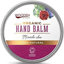 Parfums et Produits cosmétiques Baume à l'huile de figue bio pour mains - Wooden Spoon Hand Balm Miracle Skin