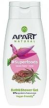 Parfums et Produits cosmétiques Gel douche - Apart Natural Superfoods Banana Flower and Hemp