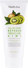 Parfums et Produits cosmétiques Gel exfoliant à l'extrait de kiwi pour visage - FarmStay All-In-One Refresh Peeling Gel Kiwi