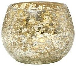 Parfums et Produits cosmétiques Photophore pour bougie votive - Yankee Candle Kensington Mercury Crackle Votive Holder