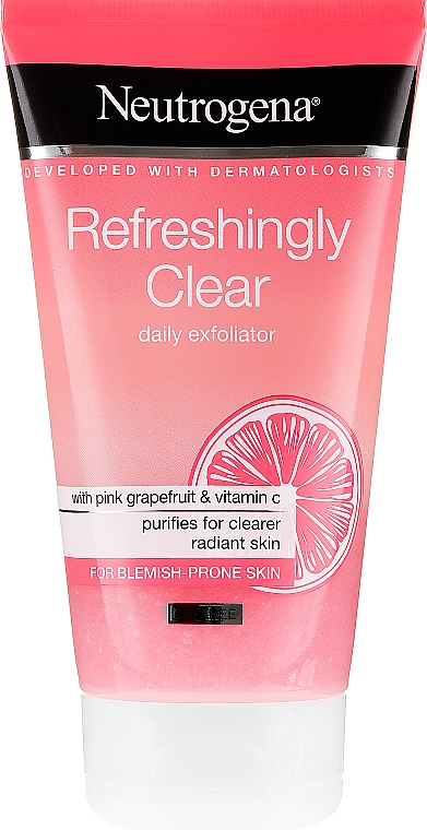 Gommage rafraîchissant au pamplemousse rose et vitamine C pour visage - Neutrogena Refreshingly Clear Daily Exfoliator