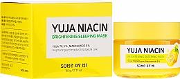 Parfums et Produits cosmétiques Masque de nuit éclaircissante pour visage - Some By Mi Yuja Niacin Brightening Sleeping