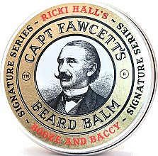 Parfums et Produits cosmétiques Baume à barbe - Captain Fawcett Ricki Hall Booze & Baccy Beard Balm