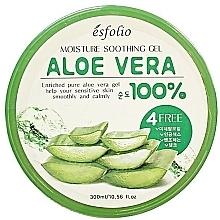 Parfums et Produits cosmétiques Gel à l'aloe vera pour visage - Esfolio Moisture Soothing Gel Aloe Vera 100% Purity