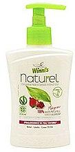 Parfums et Produits cosmétiques Savon liquide à l'extrait de grenade - Winni's Naturel Liquid Hand Soap Mani Melograno