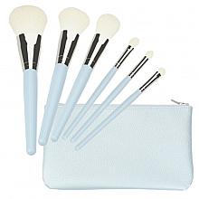 Parfums et Produits cosmétiques Kit pinceaux de maquillage, blanc - Tools For Beauty Set Of 6 Make-Up Brushes
