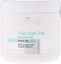 Parfums et Produits cosmétiques Sels de bain au lait de chèvre pour pieds - Bielenda Professional Foot Bath Salt With Goat's Milk