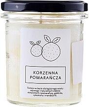 Parfums et Produits cosmétiques Bougie parfumée de soja Orange épicée - Hagi