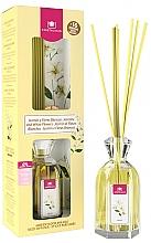 Parfums et Produits cosmétiques Diffuseur de parfum, Jasmin et fleurs blanches - Cristalinas Reed Diffuser