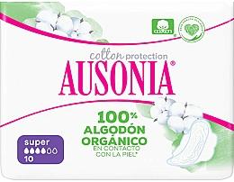 Parfums et Produits cosmétiques Serviettes hygiéniques, 10 pcs - Ausonia Cotton Protection