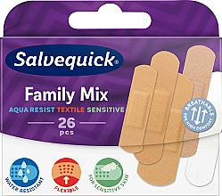 Parfums et Produits cosmétiques Pansements waterproof pour peaux sensibles - Salvequick Family Mix