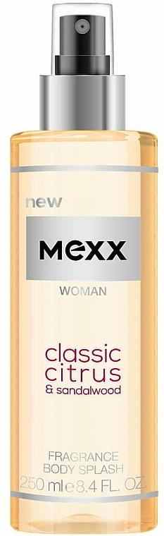 Mexx Woman Classic Citrus & Sandalwood Body Splash - Brume parfumée pour corps