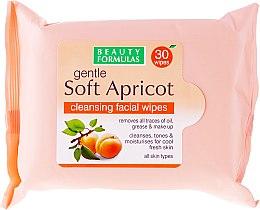 Parfums et Produits cosmétiques Lingettes nettoyantes démaquillantes pour visage - Beauty Formulas Gentle Soft Apricot Cleansing Facial Wipes