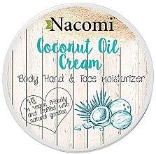 Parfums et Produits cosmétiques Crème à l'huile de coco pour visage, corps et mains - Nacomi Coconut Cream