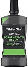 Parfums et Produits cosmétiques Bain de bouche - White Glo Charcoal Total Mouth Detox Mouthwash