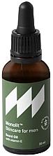 Parfums et Produits cosmétiques Huile à la vitamine E pour barbe - Monolit Skincare For Men Beard Oil With Vitamin E